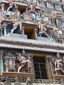 gopuram - detail