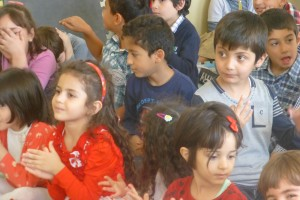 kurdistan school audience