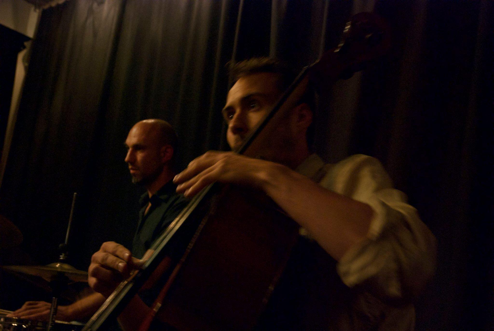 gábor hartyáni (cello and electronics) & robbert van hulzen (drums etc)
